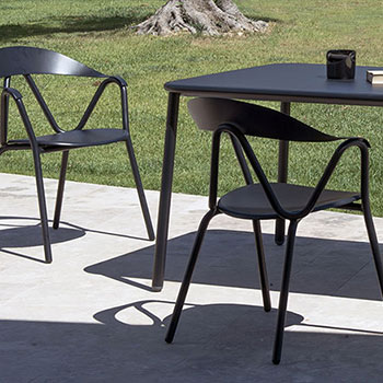 Emu Italy design furniture selected by EKLA in Mauritius