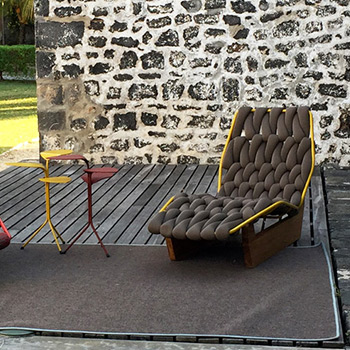 Moroso designer furniture selected by EKLA in Mauritius