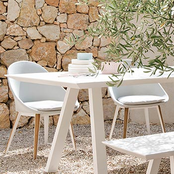 Vlaemynck outdoor designer furniture selected by EKLA Mauritius